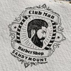 Club Man Barber Shop, New Street, above Donnybrook fair, K36, Malahide